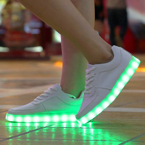 Guidelines On What Not To Do With Your Light-up Shoes