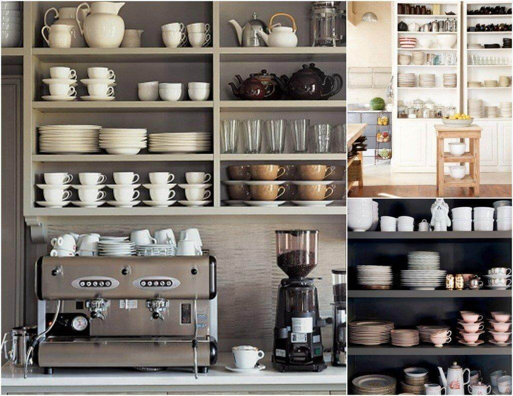 How To Organize The Shelving Units In The Kitchen