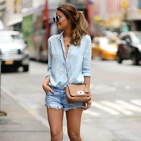 How To Wear Shorts With Affordable Shoes For Girls