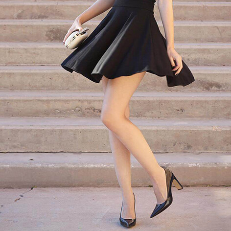 Ideas On The Best Shoes To Wear With Black Dresses For Girls